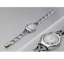 Часы серебряные 34 (7110022)