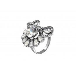 Кольцо серебряное Бант 3 (2111675)