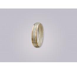Кольцо Обручальное с золотом (471к)