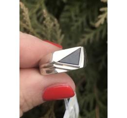 Печатка серебряная с золотом (229з)