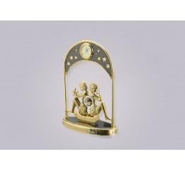 Статуэтка Сваровски Часы близнецы (S20)