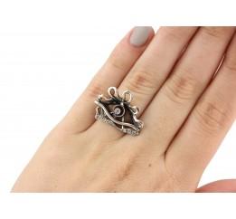 Кольцо серебряное эксклюзивное Джоан (2110846)