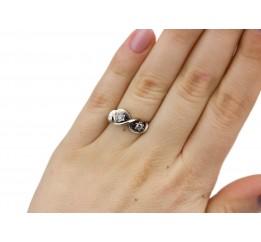 Кольцо серебряное Вензель (2111259)