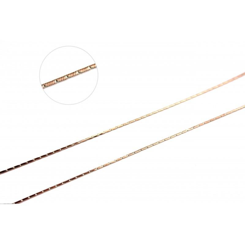 Цепочка позолоченная Снейк1 (256А2/40)