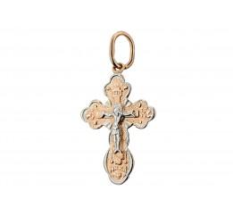 Крестик позолоченный (П32/016)