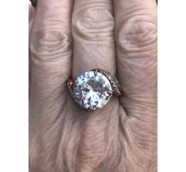 Кольцо позолоченное (15100504)
