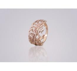 Кольцо позолоченное (071145)