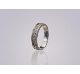 Кольцо серебро (ск26)