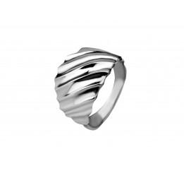 Кольцо серебряное с цирконием (арт 10431) (ск8)