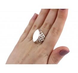 Кольцо серебряное (12015)