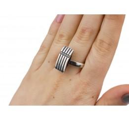 Кольцо серебро (ск65)