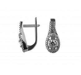 Серьги серебряные (0043.10с)