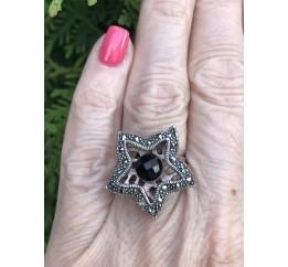 Кольцо с капельным серебром Зирка (16455)