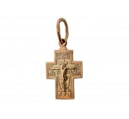 Крестик позолоченный (200п)