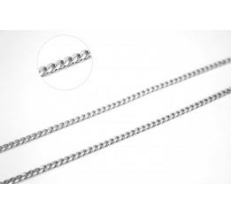 Цепочка серебряная Панцирь (панцирь)
