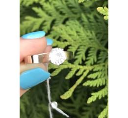 Кольцо серебряное с золотом Изюминка (051к)
