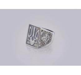 Печатка серебряная Трезуб (0174.10)
