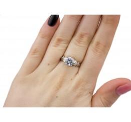 Кольцо серебряное Гейзер (1002/1р)
