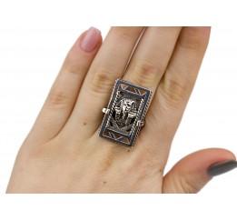 Кольцо серебряное Осирис (2100332)