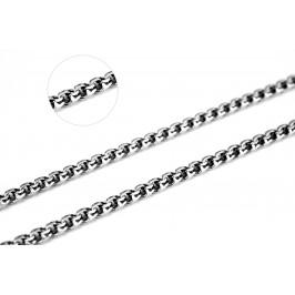 Цепочка серебряная крупная Круглый бисмарк (801тч)