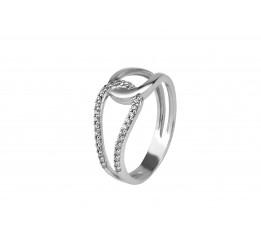Кольцо серебряное с цирконием Скрин (1134/1р)