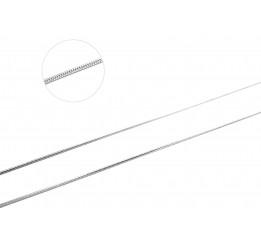 Цепочка серебряная Снейк1 (снейк04)