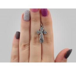 Крестик серебряный (35099)