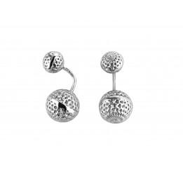 Серьги серебряные (500086)