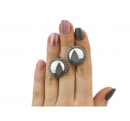 Серьги серебряные (2695)