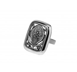 Кольцо серебряное эксклюзивное (1328)