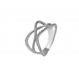 Кольцо серебряное с цирконием Касида (1174/1р)
