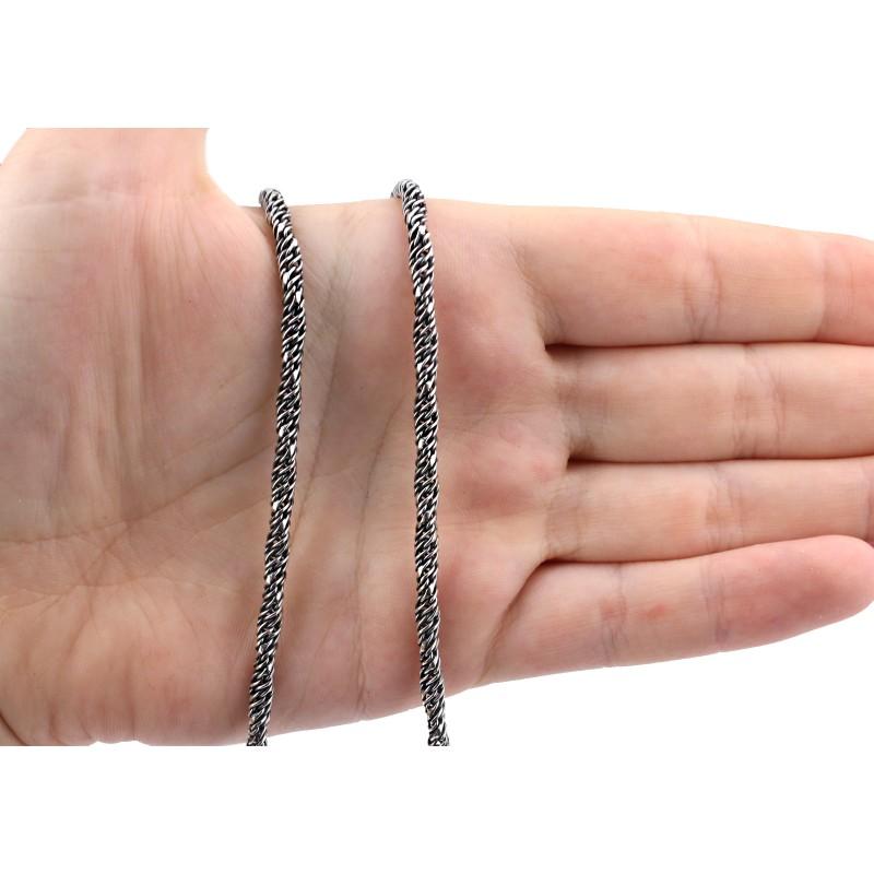 Цепочка серебряная Канатка (816лч)