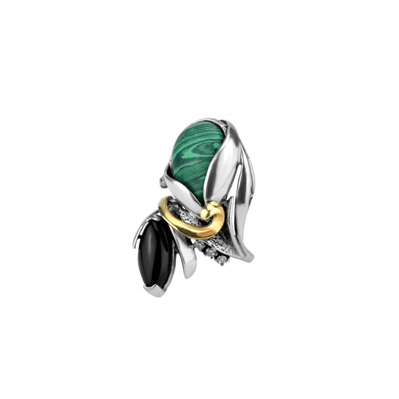 Кольцо серебряное Кассиопея (168685)