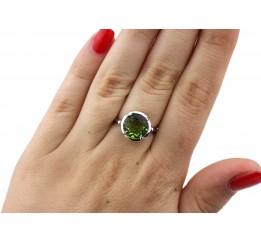 Кольцо серебряное с султанитом (1.4311.7510.12)