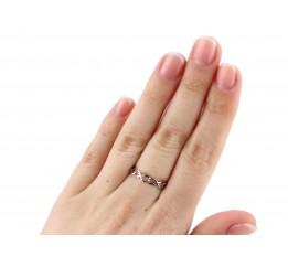 Кольцо серебряное в стиле Tiffany (К2/450)