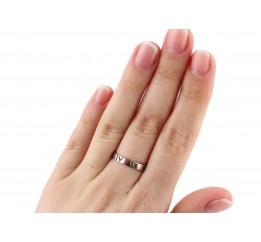 Кольцо серебряное в стиле Tiffany (К2/449)