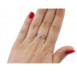 Кольцо серебряное с цирконием Маша (1115/1р)