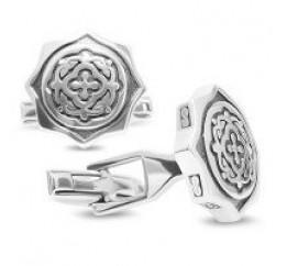Запонки серебряные (8726)