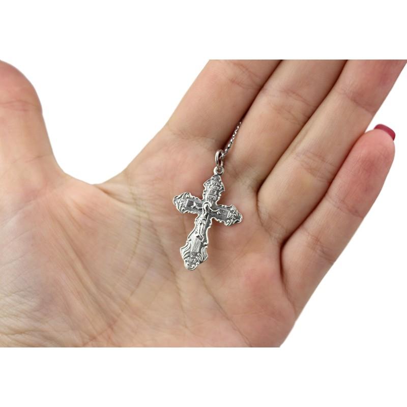 Подвес серебряный Крест (100ч)