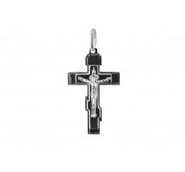 Подвес серебряный Крестик (2-8182.00)