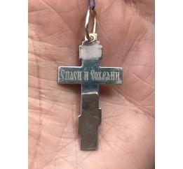 Подвес серебряный Крестик (2-8180.00)