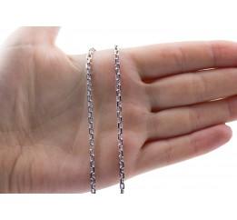 Цепочка серебряная Якорная (41030ар)