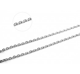 Цепочка серебряная Якорная (41030б)