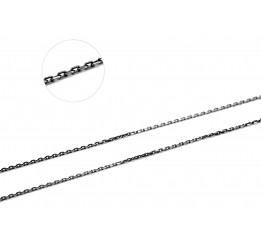 Цепочка серебряная Якорная (41030чм)