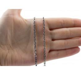 Цепочка серебряная Якорная (41030ч)