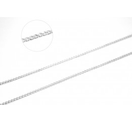 Цепочка серебряная Панцирь (POL50)