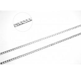 Цепочка серебряная Панцирь (POL80)
