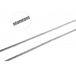 Цепочка серебряная Двойной ромб (41015)