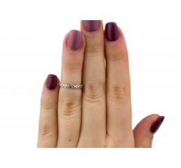 Кольцо серебряное  на фалангу (1115к)