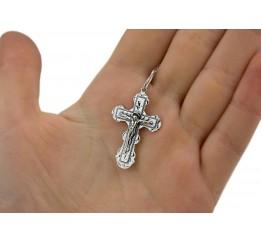 Крестик серебряный (3584ч)